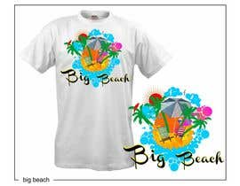 #93 para Tshirt design for Big Beach por zackushka