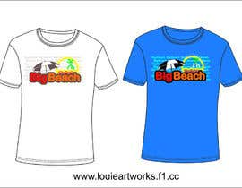 #85 para Tshirt design for Big Beach por louieart26