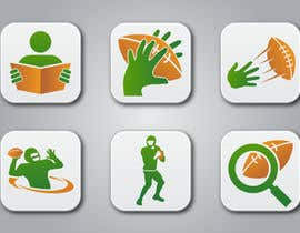 #15 para Design some Icons for a Football Mobile Application por raikulung