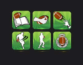 #6 para Design some Icons for a Football Mobile Application por akhil0474