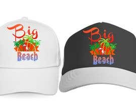 #26 para Baseball Cap Design for Big Beach por zackushka