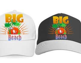 #24 para Baseball Cap Design for Big Beach por zackushka