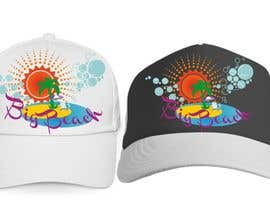 #23 para Baseball Cap Design for Big Beach por zackushka