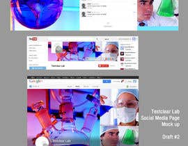#23 untuk Design YouTube header, Twitter background, G+header, Facebook cover photo, profile photo and tabs - repost oleh proxlservice