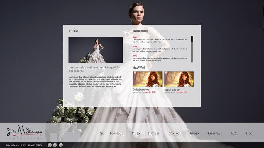Inscrição nº 10 do Concurso para Design a Website Mockup for a Photographer