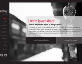 #3 untuk Design a Website Mockup for a Photographer oleh reginayanzon