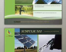 #6 for design of a brochure. autarkic energie. solar by UmeSake