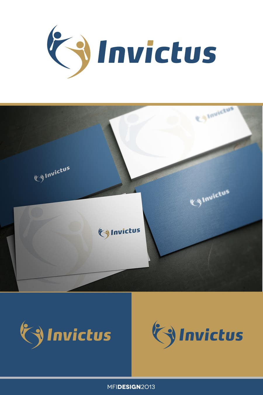 """Kilpailutyö #14 kilpailussa Design a Logo for my business group """"Invictus"""""""