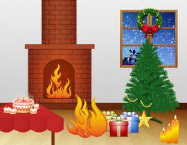 #2 para I need some Graphic Design for a Christmas room por SadunKodagoda