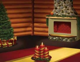 #14 para I need some Graphic Design for a Christmas room por Cornman