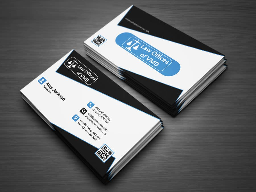 Entry #69 by atikul4you for Business Cards for an American Law Firm ...