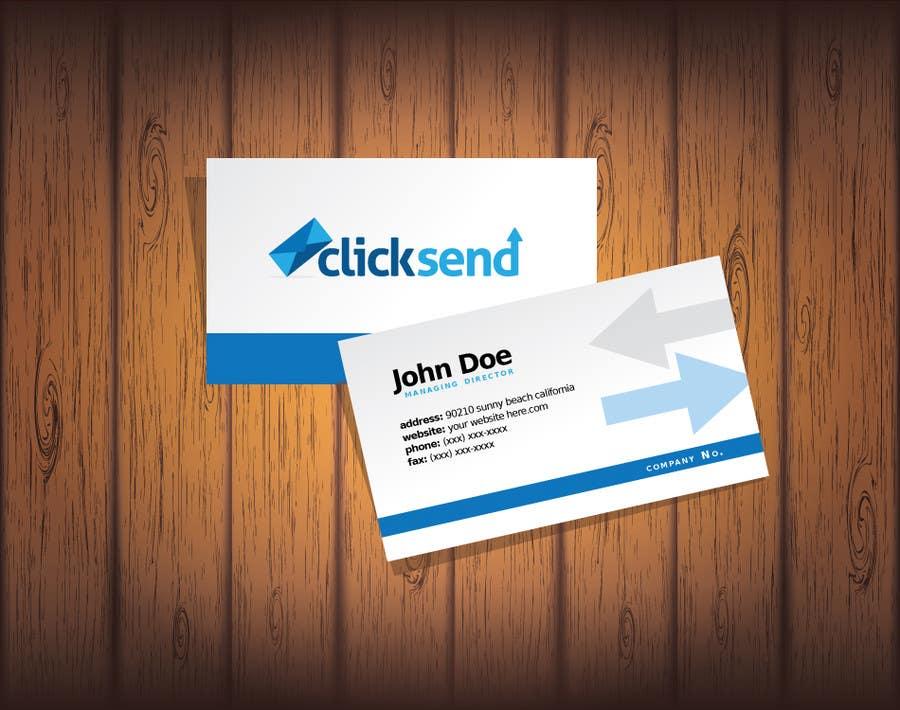 Contest Entry #49 for Design a Logo for company: ClickSend