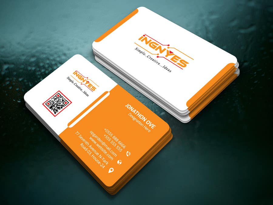 Entry #12 by nasir34 for Business Cards for innovative consumer ...