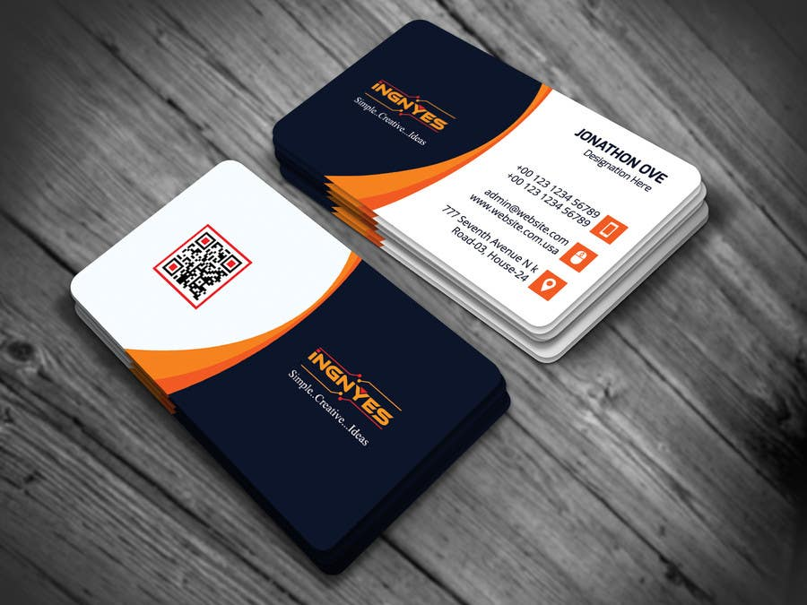 Entry #14 by nasir34 for Business Cards for innovative consumer ...