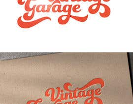 #75 for Design a Logo for Vintage Garage by Logobarista