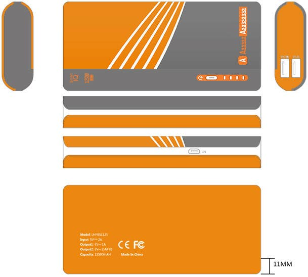 Package Design Templates | Entry 1 By Vivekdaneapen For Power Bank Retail Package Design