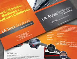 #16 untuk Design a Brochure for LA Truck Bedliners oleh orbit360designs