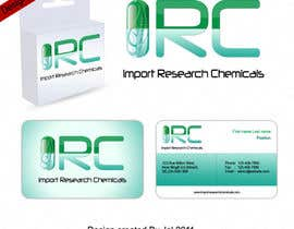 #7 para Logo Design for Import Research Chemicals por jal4