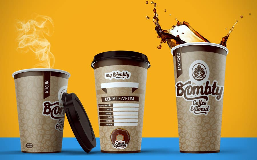 paper cup design Paper cup mockup psd set of 3 paper cup mockups in white, orange and stripes you can use the mockup psd template to present your print logo design in a professional ma you can use the mockup psd template to present your print logo design in a professional ma.