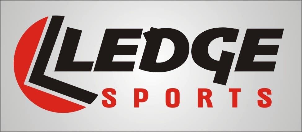 Kilpailutyö #88 kilpailussa Design a Logo for Ledge Sports