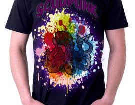 #21 para Design a scudpunk T-Shirt! por moshgirl