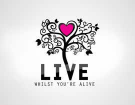 nº 396 pour Logo Design for Live Whilst You're Alive par seryozha