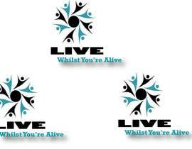 #151 para Logo Design for Live Whilst You're Alive de qualitywork09