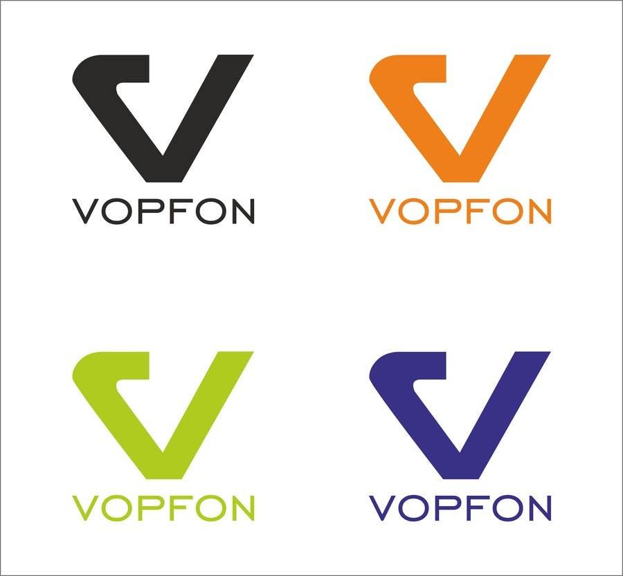 Proposition n°                                        163                                      du concours                                         Design a Logo for VOPFON