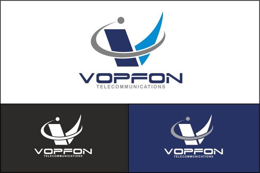 Proposition n°                                        121                                      du concours                                         Design a Logo for VOPFON