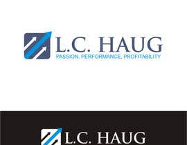 nº 37 pour Develop a Corporate Identity for L.C. Haug par ibed05