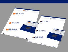nº 50 pour Develop a Corporate Identity for L.C. Haug par advway