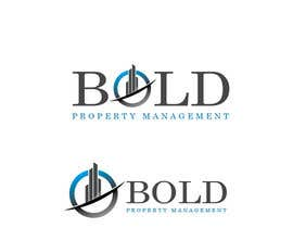 nº 327 pour Logo for Bold Property Management par juanpa11