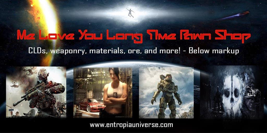 Kilpailutyö #11 kilpailussa Entropia Universe Banner for Game Shop