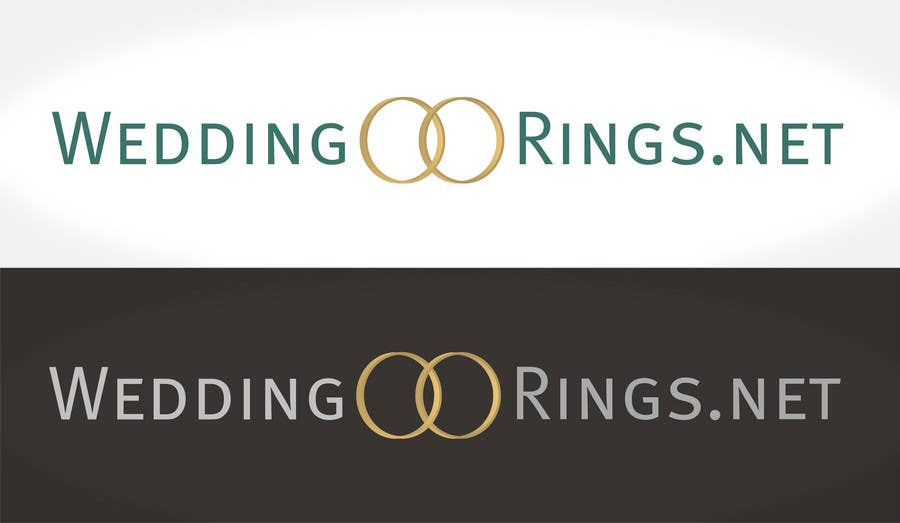Inscrição nº                                         42                                      do Concurso para                                         Logo Design for WeddingRings.net (yes, this is our company name)