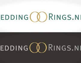 #42 para Logo Design for WeddingRings.net (yes, this is our company name) por santarellid