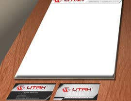 mirceacojocaru tarafından Design some Business Cards & Letterhead for Utah Fabrication için no 14