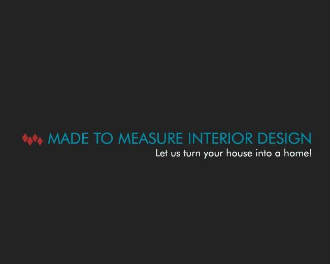 Kilpailutyö #40 kilpailussa Design a Logo for Interior Design Firm