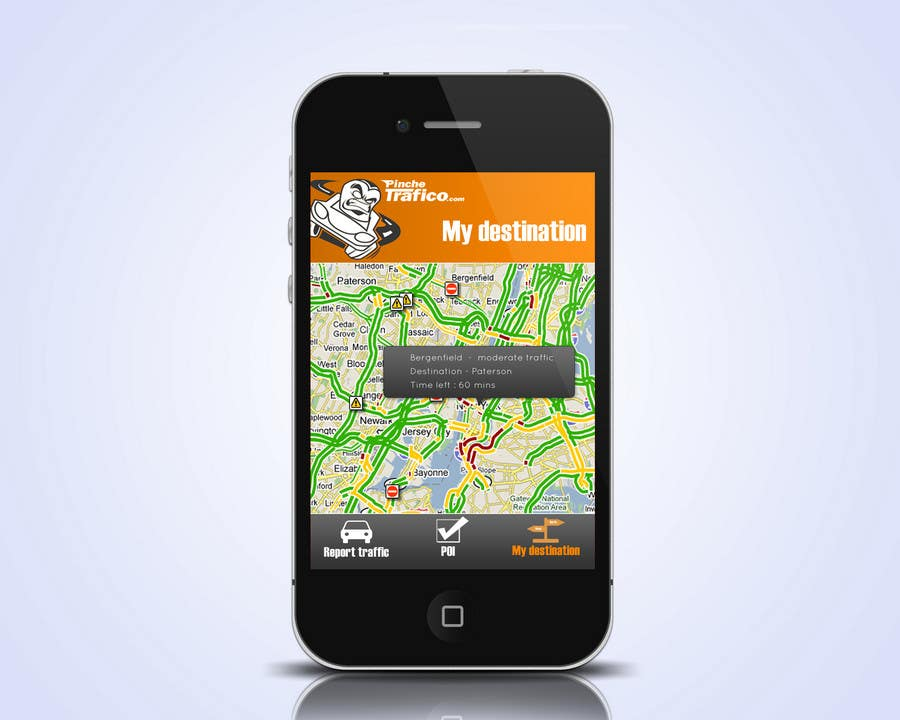 Contest Entry #                                        6                                      for                                         Graphic Design for Pinche trafico - mobile app design