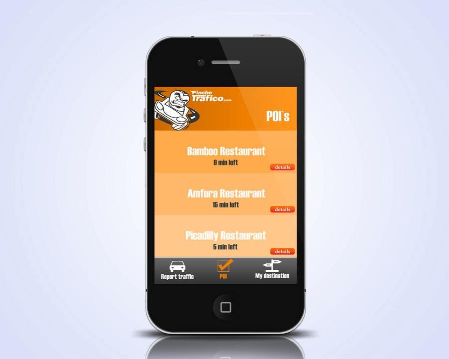 Konkurrenceindlæg #                                        8                                      for                                         Graphic Design for Pinche trafico - mobile app design