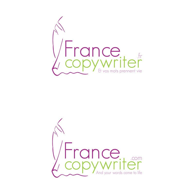 #46 for Require logo and business cards design for:  Francecopywriter (international logo) by Bauerol3