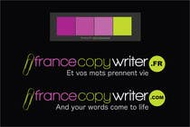 Contest Entry #13 for Require logo and business cards design for:  Francecopywriter (international logo)