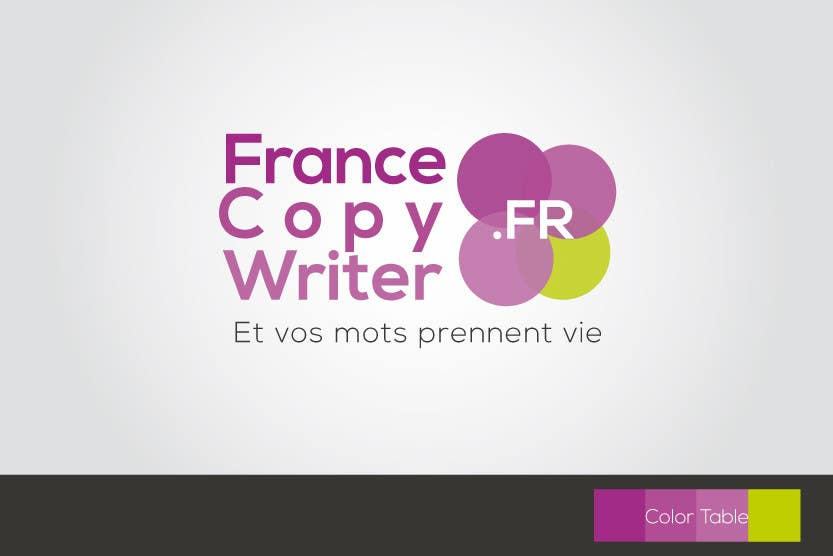 #15 for Require logo and business cards design for:  Francecopywriter (international logo) by mekuig