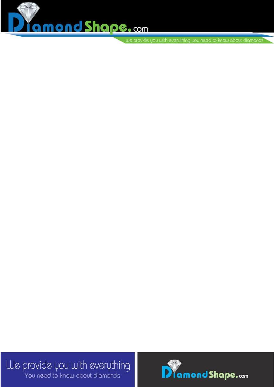 Penyertaan Peraduan #10 untuk DiamondShape.com Logo & Header