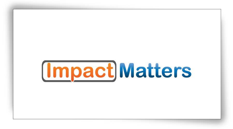 Penyertaan Peraduan #30 untuk Design a Logo for Impact Matters