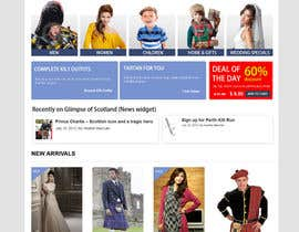 #9 cho HeritageOfScotland.com - online store graphic design. Functional mockup is ready. Probable job offer for three best designers. bởi kethketh