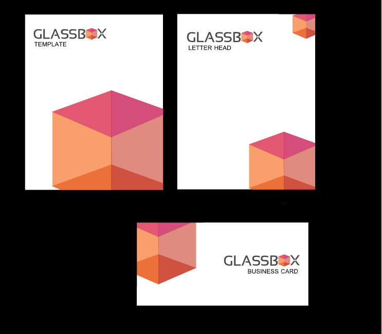 Penyertaan Peraduan #318 untuk Clean & modern logo for the name GLASSBOX (international consulting biz)