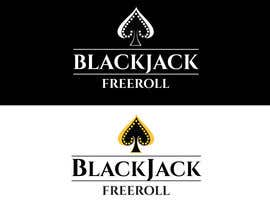 #182 for Design a Logo for Blackjack Freeroll af tudorgandu