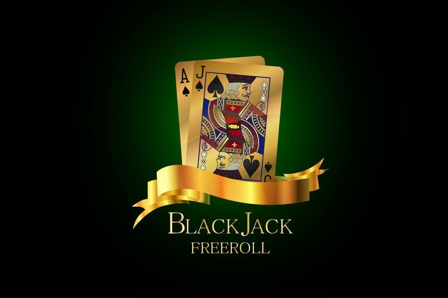 #209 for Design a Logo for Blackjack Freeroll by kalitaa36