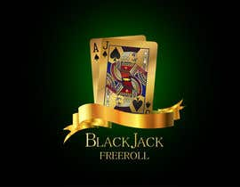 #209 for Design a Logo for Blackjack Freeroll by kalitaa36