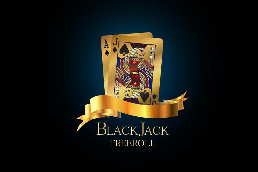 #210 for Design a Logo for Blackjack Freeroll by kalitaa36